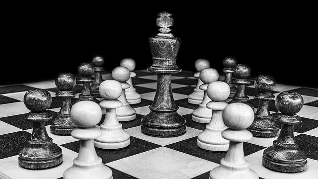 Chess pieces names