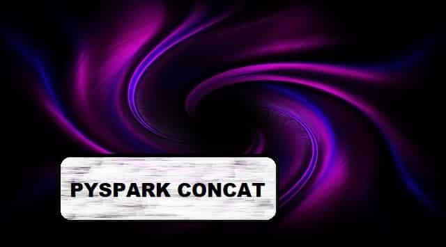 pyspark concat