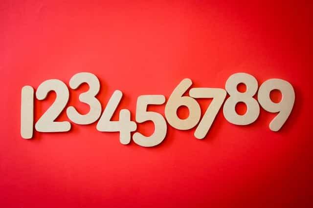 list of numbers python